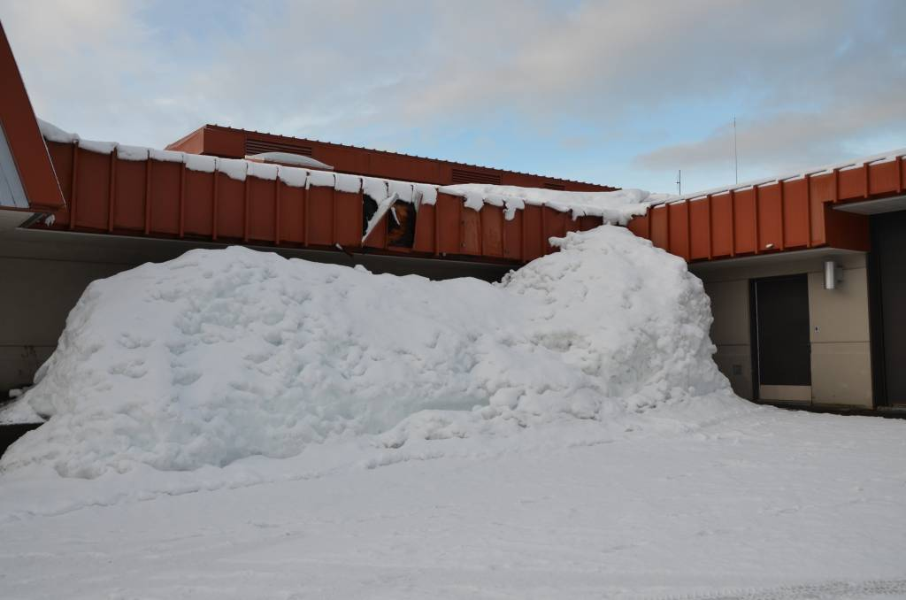 Commercial Business Winter Storm Damage Insurance Claim