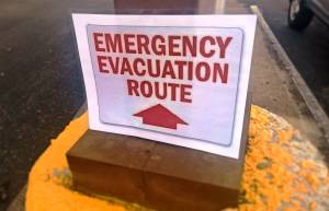 7-11 Emergency Evacuation Route