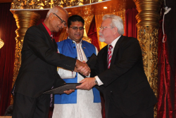 Jansen/Adjusters International Honored by Houston's Vadtal Dham Temple and Hindu Community